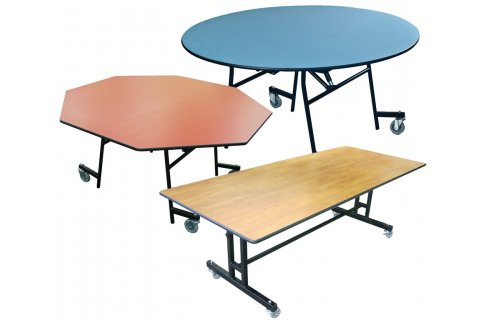 EZ-Tilt Cafeteria Tables