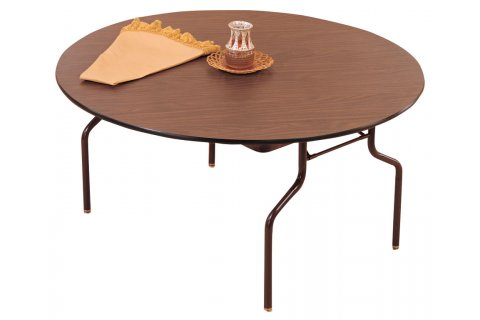 Melamine Top Round Banquet Folding Tables