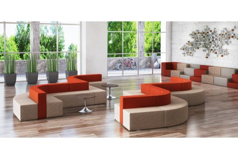 HPFi Flex Modular Soft Seating