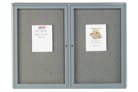Radius Edge Fabric Tackboard Directories