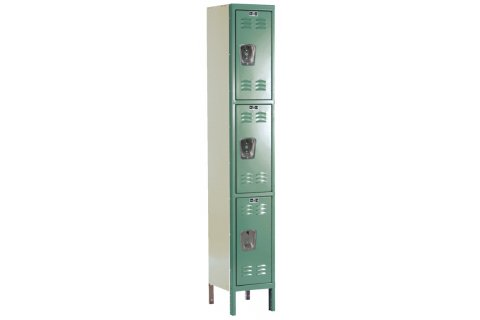 Hallowell Triple Tier Premium Lockers