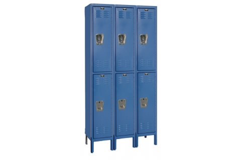 Hallowell Double Tier Premium Lockers