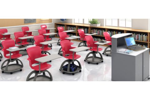 Ethos Mobile School Chairs From Haskell
