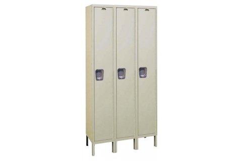 Hallowell Quiet Lockers- 3 wide