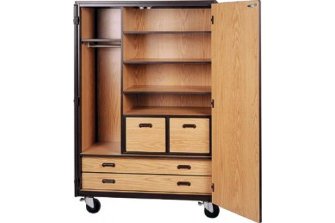 Mobile Wardrobe Storage Cabinets by Ironwood, Storage Cabinets