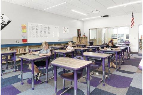 Junction Collaborative Desks by Academia