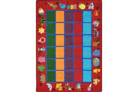 Alphabet Phonics Classroom Rugs