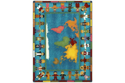 Hands Around the World Carpets