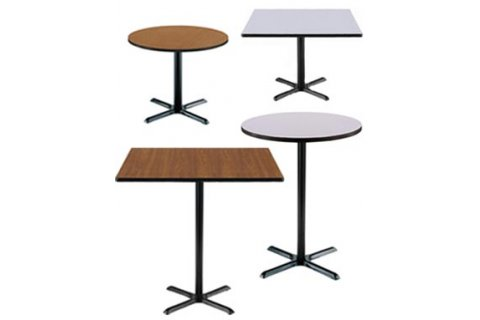 Cafeteria Tables with X-Bases