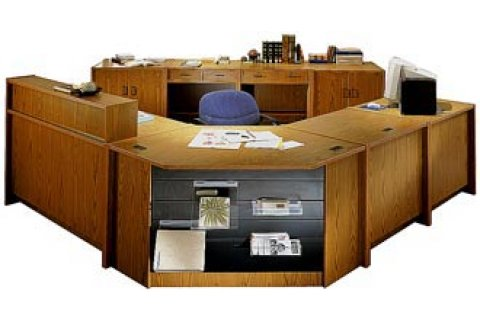 Glacier Modular Library Circulation Desk