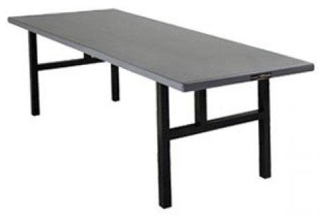 Alum. Rectangular Folding Table- H Legs