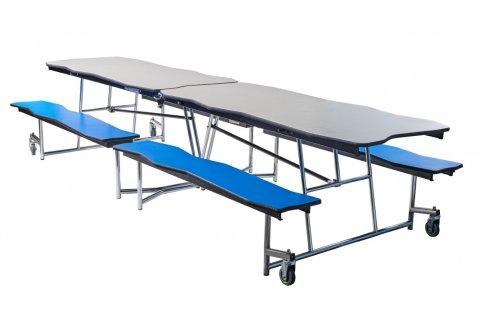 NPS Bedrock Cafeteria Tables