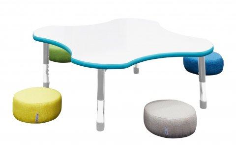 Mod Pebble Floor Cushions by Academia