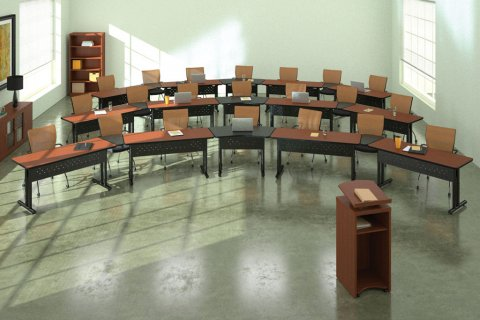 Meeting Plus Fixed Leg Table System
