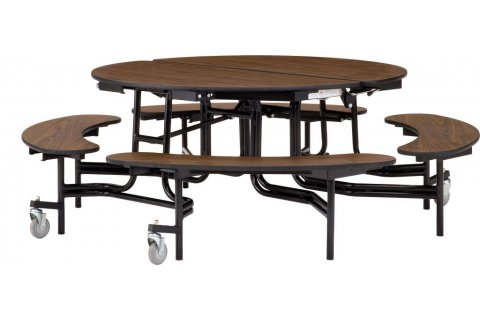 NPS Folding Bench Cafeteria Tables