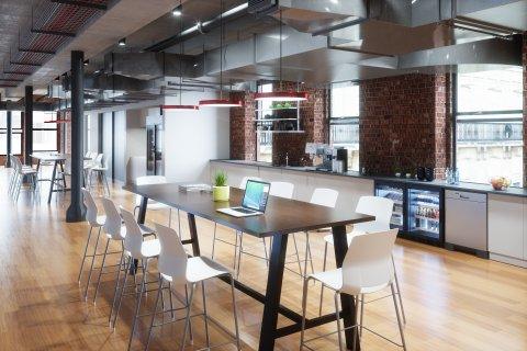 Midtown Urban Loft Tables by KFI Studios