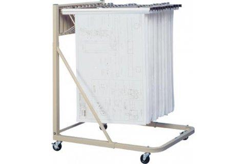 Blueprint Storage Racks by Brookside Design