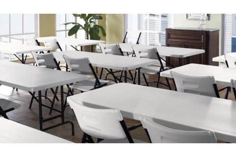 Blow Molded Folding Tables