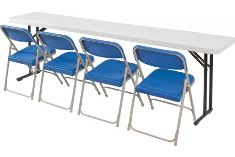 Lightweight Folding Seminar Table