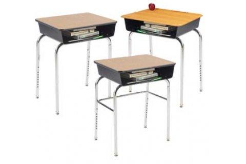 1200 Premium Fixed Height Open-Front Desks