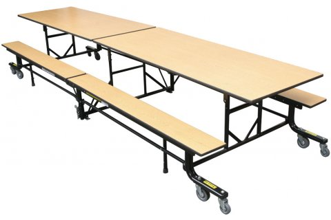 Palmer Hamilton Mobile Cafeteria Tables