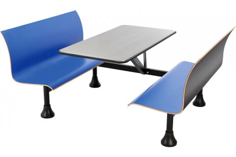 Retro Cafe Tables by OFM