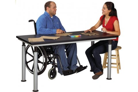 Adjustable Drawing Tables by Diversified
