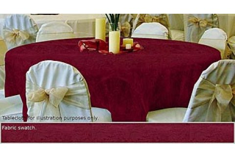 Damask Tablecloths and Napkins