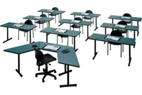 Folding Smart Training Tables by ABCO