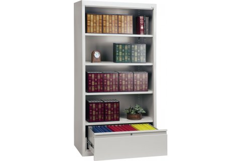 Sanduksy Bookcases with File Drawer