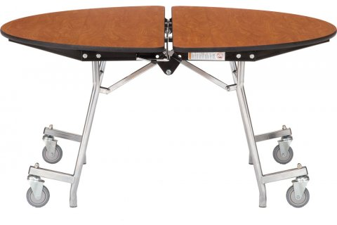 NPS Round Mobile Cafeteria Tables