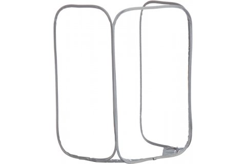 Economy Tri-Fold Portable Antimicrobial Sneeze Guard