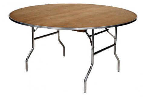 M Series Round Plywood Folding Tables