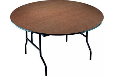 Particle Board Core Round Folding Tables
