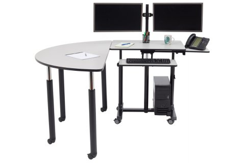 NPS Sit Stand Teacher's Desks