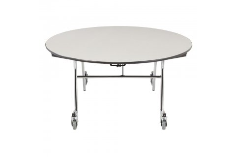 NPS Easy Fold Cafeteria Tables - Chrome Frame