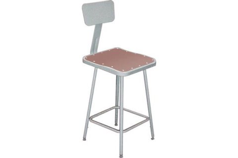 6000 Series Square Stools with Backrest