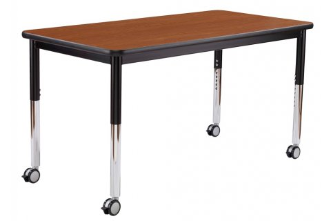 Dura Series Heavy Duty Adjustable Classroom Tables