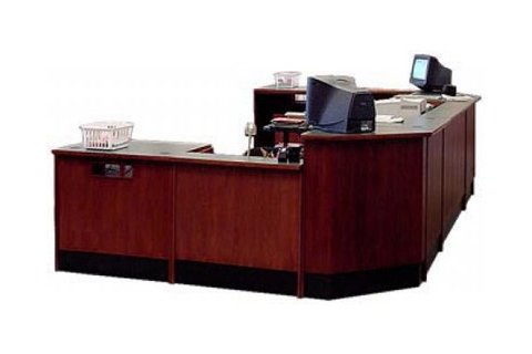 Russwood Ultima Circulation Desks