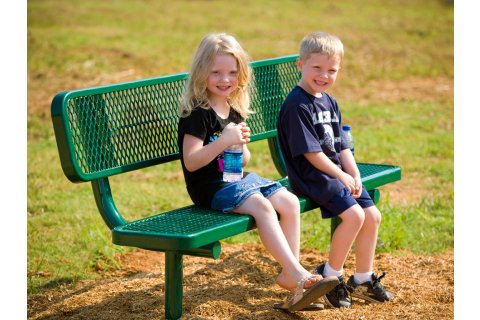 Outdoor Thermoplastic Benches