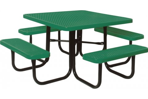 Square Thermoplastic Picnic Tables