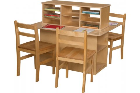 Preschool Writing Centers by Wood Designs