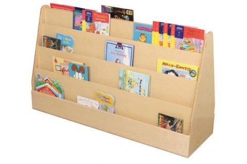 Wooden Book Display Book Display Stand Daycare Furniture  Excellent4Kidsexcellent4Kids