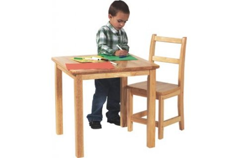 Early Learning Wood Tables