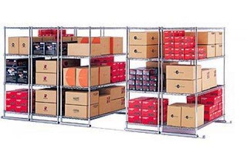 Attractive X5 Sliding Storage Shelf System