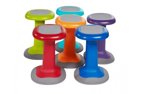 Squircle Wobble Stools