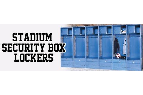 Stadium Security Box Sports Lockers