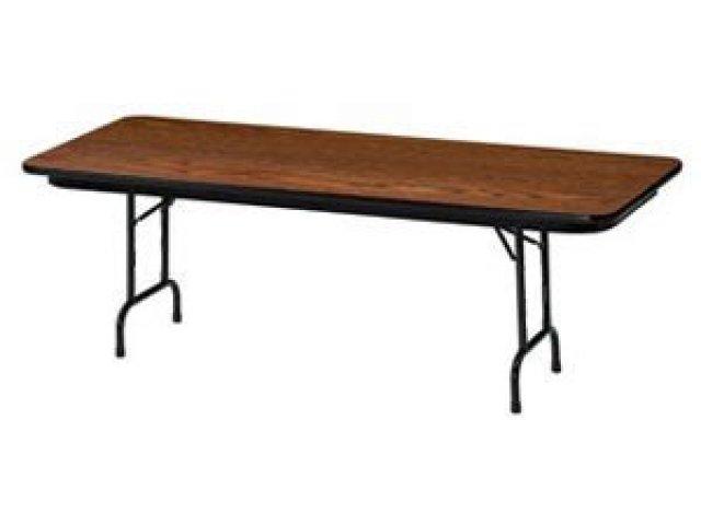 Great Laminate Rectangular Folding Table Adj. Height