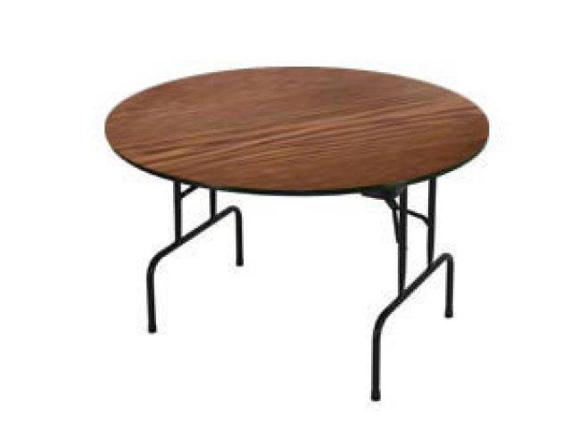 high pressure laminate top round folding table 60 folding tables. Black Bedroom Furniture Sets. Home Design Ideas