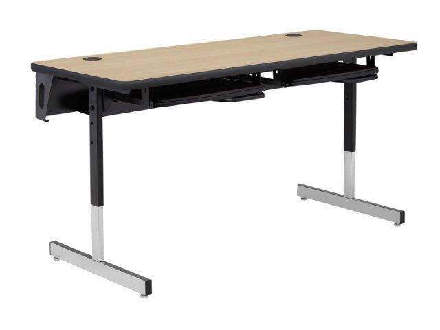 8700 Series Adjustable Classroom Computer Table 72x30